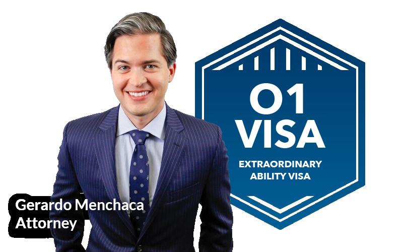 Gerardo Menchaca Picture&o1visa Extraordinary Badge