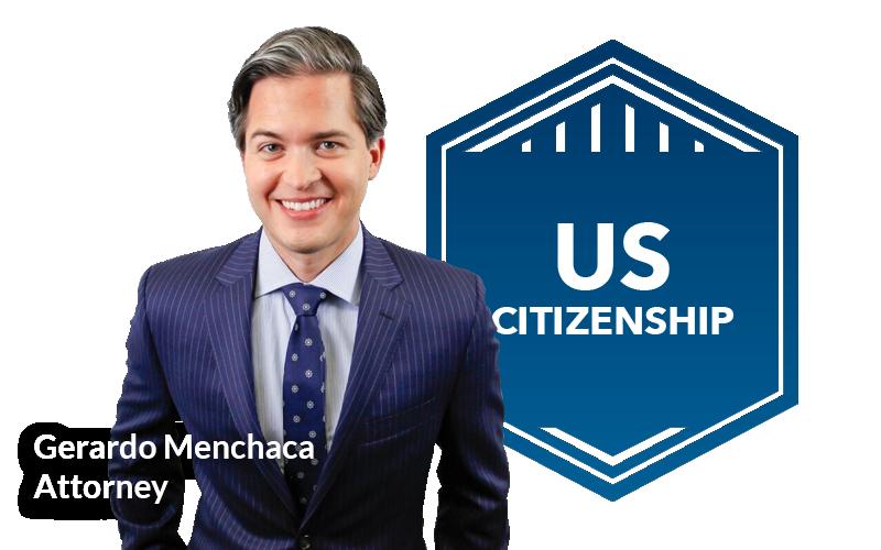 Gerardo Menchaca Picture&uscitizenship Badge